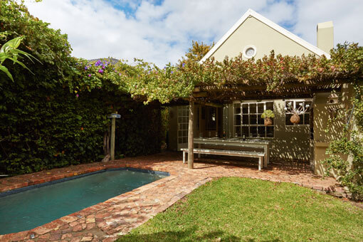 Franschhoek Accommodation The Bolt Hole - Swimming Pool And Entertainment Area