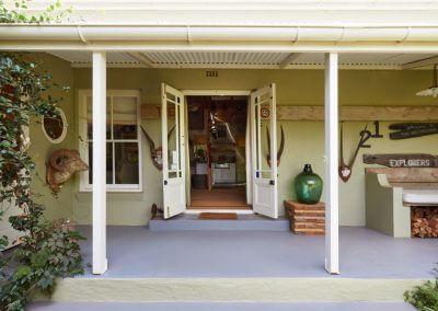 The Front Door And Veranda