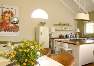 Franschhoek Holiday Home - The Kitchen And Dining Room