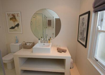 The Main Bath Room Basin - The Map Room Franschhoek